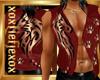 [L] Red WOLF Vest M