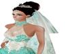 velo elegante sposa