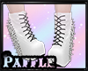 P| Spiked Boots White