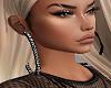 Big Black hoop Earrings
