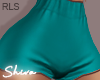 $ Summer Shorts Aqua RLS