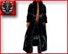 black velvet coat