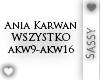 Ania Karwan - Wszystko 2