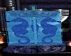 !   A Hot Blue Seahorse