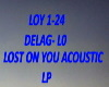 B.F Lost On You Acoustic