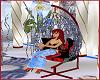 Red  Rose Hammock Chair