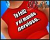*BS*Top Red Yo Feliz