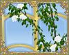 ☽ rose vine; white