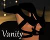 """Cindy"" Black  Bow Heels"