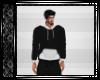 Black & White Hoodie