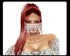 lace white veil