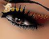 Yellow Red Eye Makeup