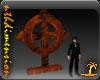 Steampunk Metal Cross V1