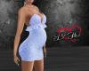 Blue Lace Dress -Prego