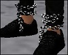 Dark Ankle Chains Both