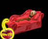 Hot Red Sofa bed