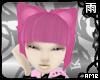 Pink Kitty Bob Hair