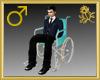 Wheelchair Avatar Male