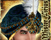 Sultan Turban Blue