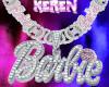 barbie custom chain