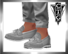 CTG  GRAY LOAFERS