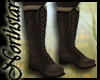 ~NS~ Solid leather boots