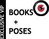 Storyteller Pose + Books