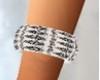 Diamond B/W Bracelet