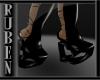 (RM)Pvc heart boots