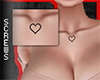 Chest Tattoo Heart Black