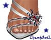 C) Stars & Stripes heels