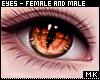 金. Fire Eyes