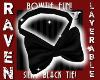 SILKY BLACK BOWTIE!