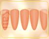 ○ Peach Nails.