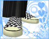 Checkered Canvas SlipOns