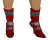 Red & Black Boots