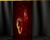 red/gold heart radio