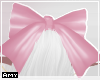 f pink bow