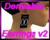 Derivable earrings v2