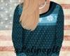 . Sweater in blue