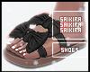 Req. Bowtie Sandals Blk