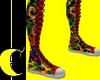 Flamin'Rainbow Sneakers