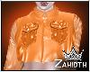 Orange Silk Jacket