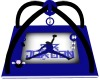 Blue Jordan Playmat