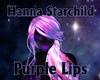 Neon Purple Lips