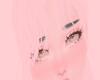 P|Baby pink bangs