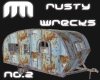Rusty Caravan/Camper