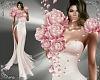 T- Petals Dress pink