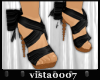 [V7] Black Bow Shoes
