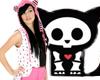 Skelanimals Pink Hoodie